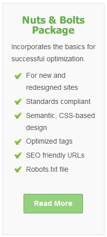 Nuts & Bolts SEO Package