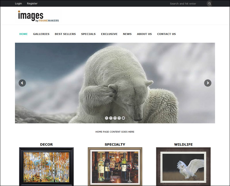 Images by Framemakers