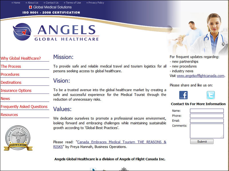 Angels Global Health Care