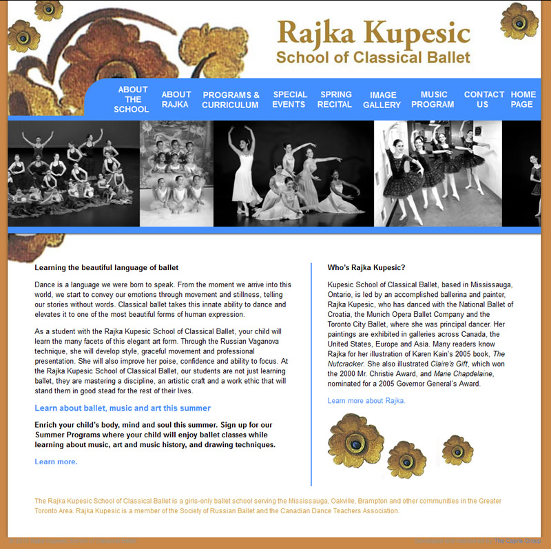 Kupesic School of Classic Ballet