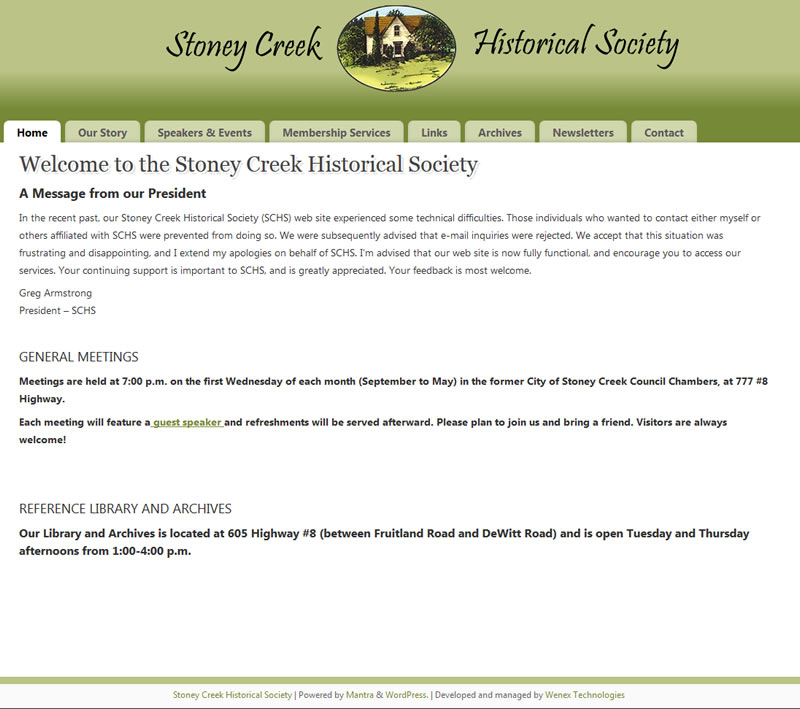Stoney Creek Historical Society