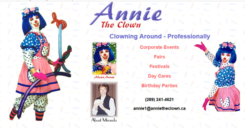 Annie The Clown