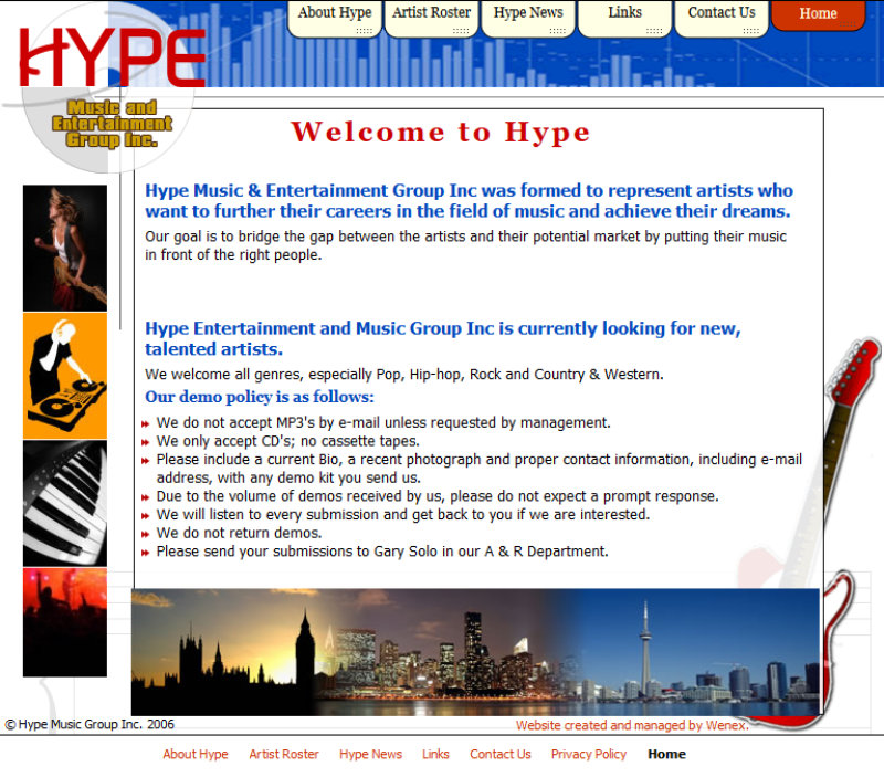 Hype Music and Entertainment Group