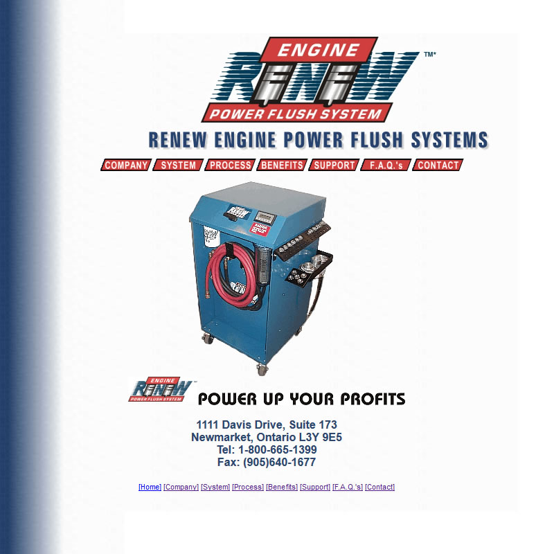 Renew Engine Power Flush Systems